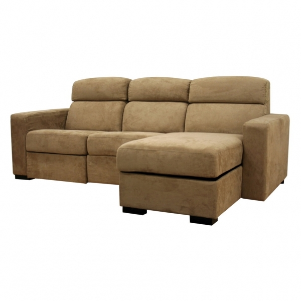 Beautiful L Shaped Small Brown Velvet Sectional Sofa With Sleeper Sofa With Small Sleeper Sofa With Chaise