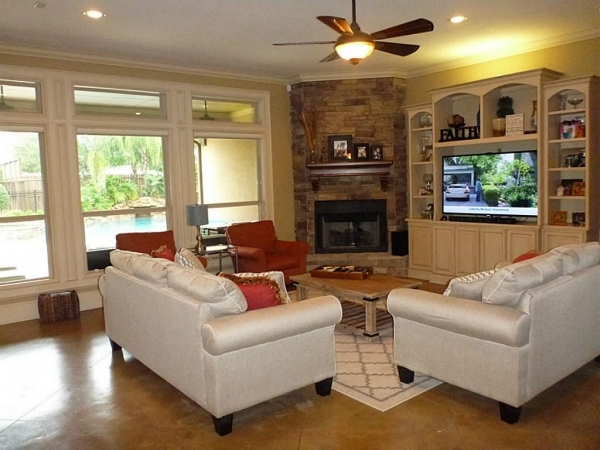 Best Living Room Awesome Corner Fireplace Small Living Room With Small Room With Corner Fireplace Pic