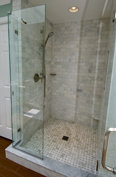 Fascinating White Subway Tile Bathroom Shower Marble Bathroom Xpx White Subway Small Bathroom Renovation With Subway Tile In Shower