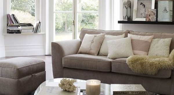 Contemporary Loveseat Small Spaces