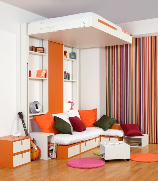 Image of Living In A Shoebox 10 Great Space Saving Beds Space Saving Beds For Small Rooms