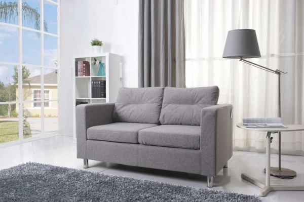 Image of Small Living Room Design With Colorful Gray Sofa Living Room Gorgeous Small Living Rooms