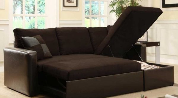 Small Storage Sectional