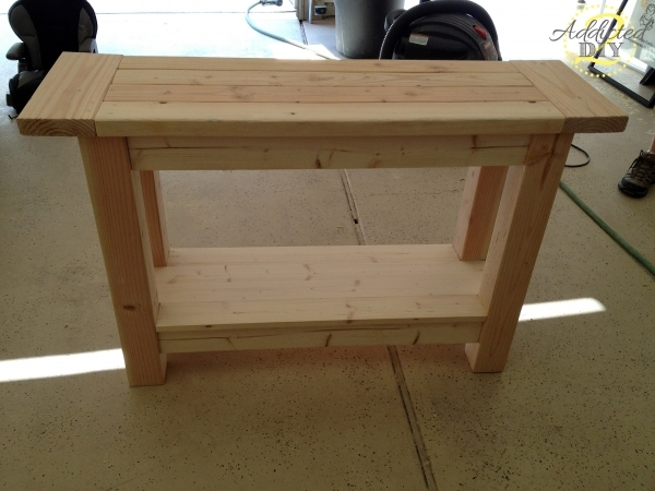 Incredible Furniture Unfinished Custom Diy Wood Outdoor Console Table With Storage For Small Spaces Ideas Outdoor Console Table Outdoor Wicker Console Table Outdoor Outdoor Storage For Small Spaces