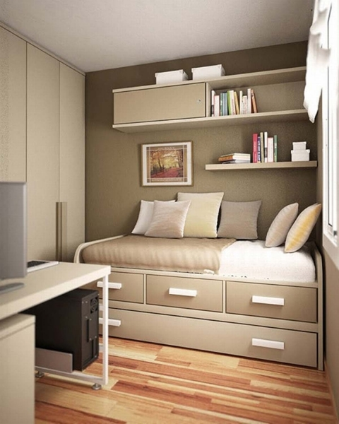 Marvelous Fair Design Ideas Using Cylinder Silver Iron Rods And Rectangular Wardrobe Designs For Small Bedroom