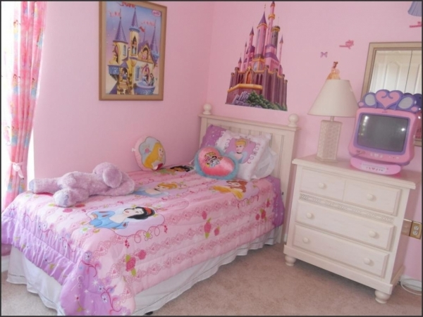 Marvelous Lovable Little Girl Room Ideas Interior Designs With Pink Wall Bedroom Decorating Ideas Small Girls