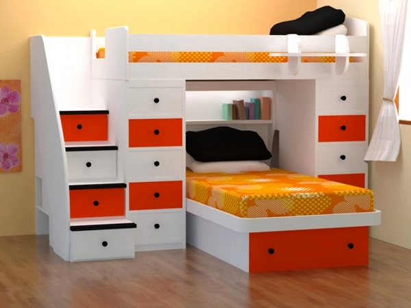 Outstanding Bedroom Kids Bedroom Furniture Sets For Boys Storage Space For Space Saving Beds For Small Rooms
