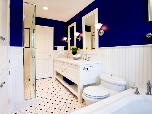 Picture of Foolproof Bathroom Color Combos Bathroom Ideas Amp Designs Hgtv Top Paint Color For Small Bathroom