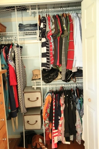 Picture of Tips Amp Tools For Affordably Organizing Your Closet Momadvice Small Closet Organization