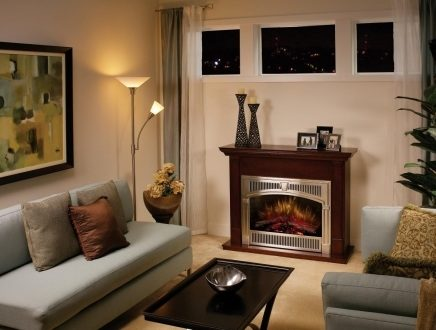 Electric Fireplaces For Small Living Rooms