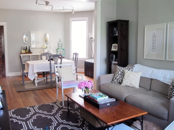 Stylish Living Room Long Narrow Living Dining Room Design With Rectangle Small Living Room Dining Room Decor