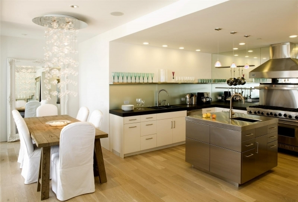 Stylish Modern Kitchen Dining Rooms Small Kitchen Dining Room Design Ideas Small Room Into A Living Room And Kitchen