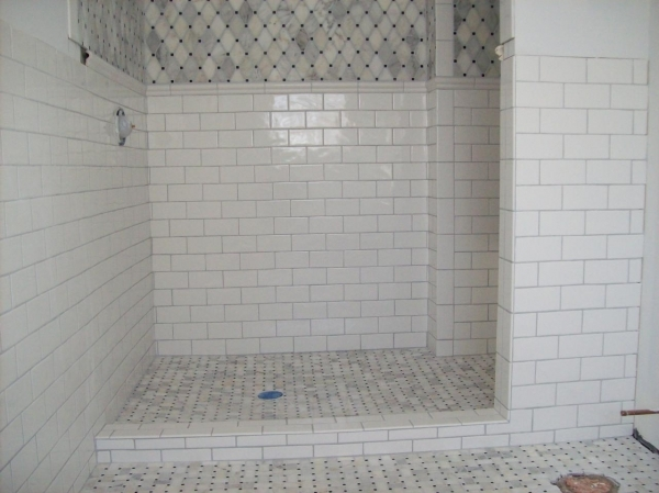 Stylish Small Shower Bathroom Ideas White Subway Tile Shower Floor Small Bathroom Renovation With Subway Tile In Shower