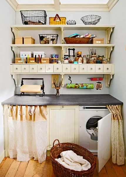 Alluring Simple And Cheap Laundry Room Storage Organization Ideas For Small Small Space Need Storage