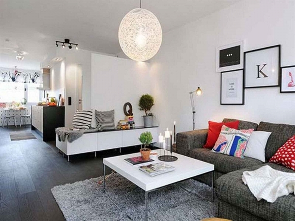 Awesome Small Living Room Cool Small Living Room Ideas White Leather Furnished Small Sized Living Room