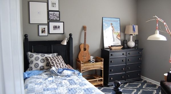 Grey Walls In Small Rooms