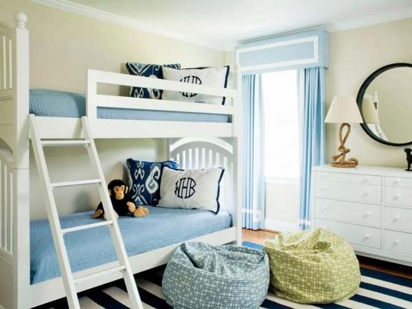 Beautiful Color Schemes For Kids39 Rooms Home Remodeling Ideas For Bunk Bed Decor Ideas For Coed Small Room