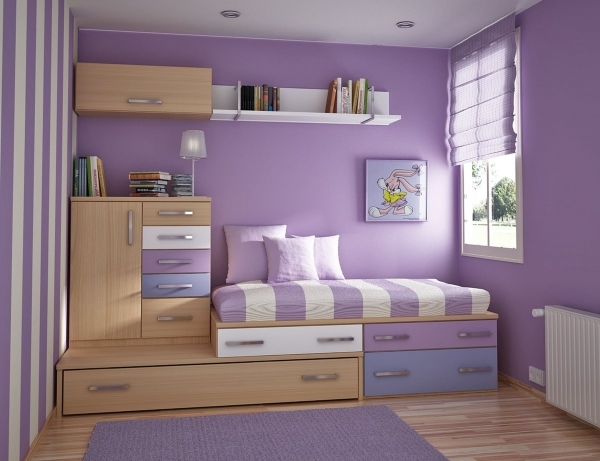 Delightful Purple Bedroom Decor Bedroom Waplag Decorate A Teen Girls Bedroom With Single Size Bed And Small Room