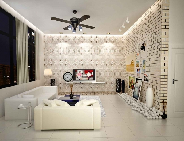 Fantastic Modern Ceiling Fans In Contemporary Style Designing City Style Ceiling Fans For Small Rooms
