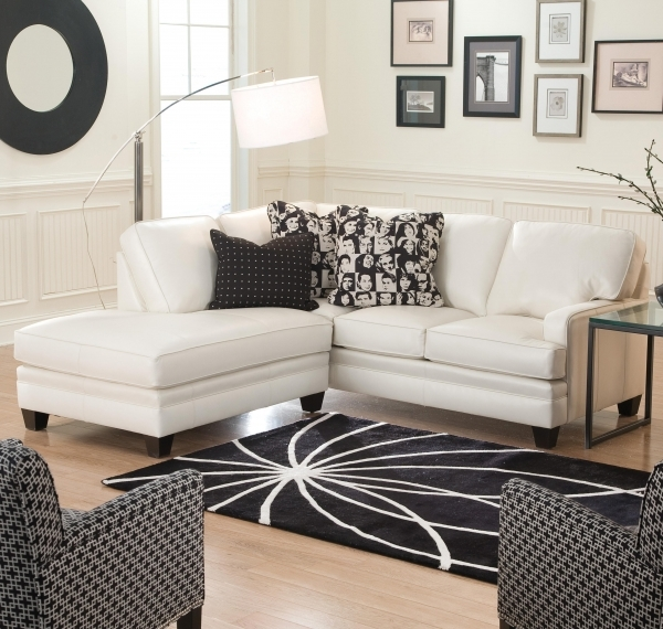 Fantastic Small Sectional Sofa With Contemporary Look Smith Brothers Small Sofa With Chaise Lounge