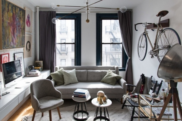 Fascinating Inspiration From 4 Small Living Rooms Apartment Therapy Senior Living Small Apartment Furnishing
