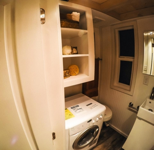 Incredible Tiny Mountain Houses Can Be Constructed In Four Weeks Tiny House Bathrooms With Stackable Washer And Dryer