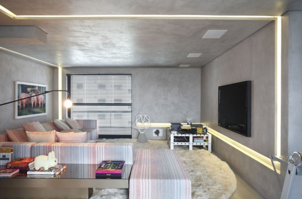 Inspiring Space Saving Interior Design From Home With Modern Home Office Small Flats Posh Interior Design