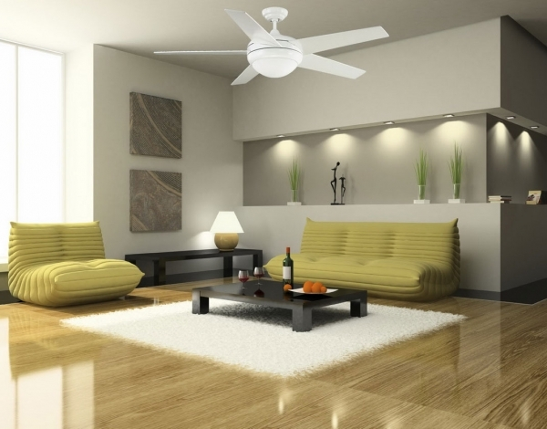 Marvelous Small Modern Ceiling Fan With Great Effects For Your Rooms Style Ceiling Fans For Small Rooms