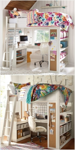 Outstanding 1000 Ideas About Small Kids Rooms On Pinterest Kids Rooms Bunk Bed Decor Ideas For Coed Small Room