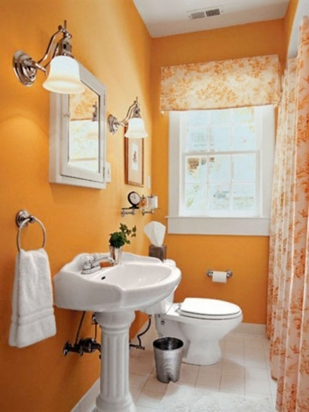 Outstanding Small Bathroom Pictures 27 Of 29 Bathroom Paint Ideas Small Small Bathroom Painting
