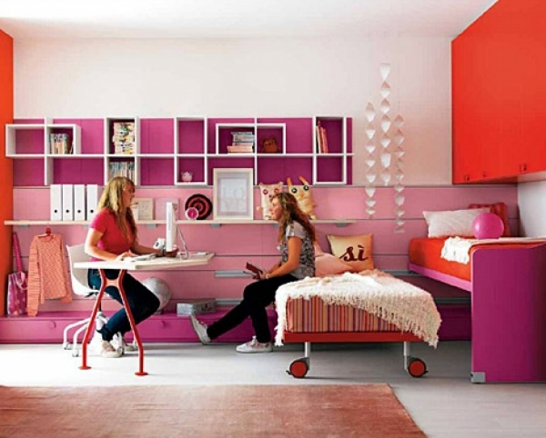 Picture of 25 Lovely Teenage Room Design Ideas That You Must See Pennyroach Decorate A Teen Girls Bedroom With Single Size Bed And Small Room
