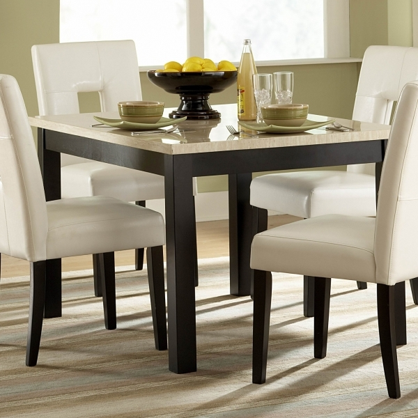 Remarkable Harmonious Small Home Dining Room Interior Design With Square Best Small Dining Tables
