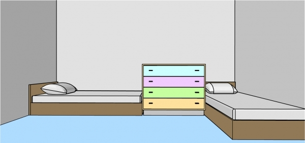 Remarkable How To Arrange A Small Bedroom For A Boy And A Girl Small Bedroom Two Kids