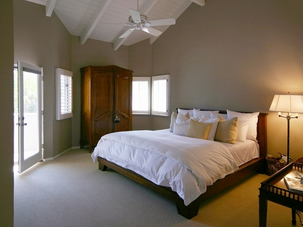 Wonderful Bedroom Classic Neutral Bedroom Best Colors For Small Rooms Style Ceiling Fans For Small Rooms