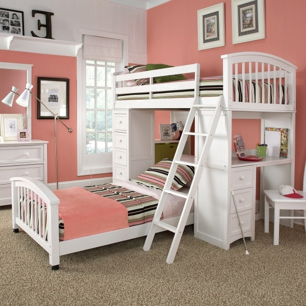 Amazing Bedroom Tidy And Unique Small Bedroom Decorating Ideas With Small Girls Bunk Beds Decorating Ideas