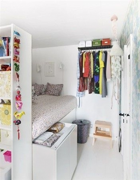 Amazing Incredible 12 Absolute Very Small Space Bedroom For How To Small Space Organizers