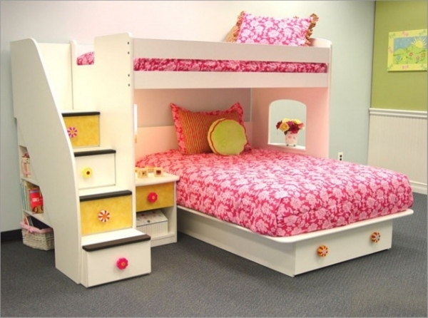 Awesome Bedroom Lovely Funny Bedroom Ideas For Teenage Girls Kids Room Small Girls Bunk Beds Decorating Ideas