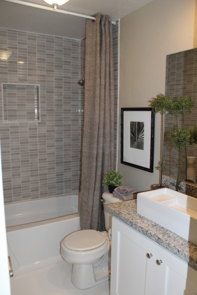 Awesome Gray And White Bathroom Bathroom Waplag Subway Tile Small Bathroom Remodeling