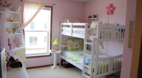 Small Girls Bunk Beds Decorating Ideas