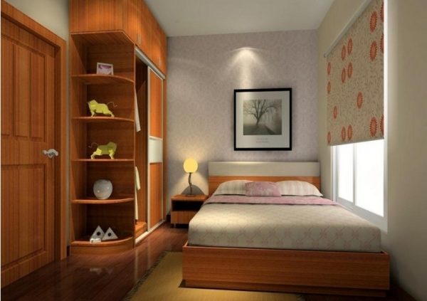 Fascinating 5 Tips To Create Comfortable Small Bedroom Design Aida Homes Small Bedroom Desings In Brown