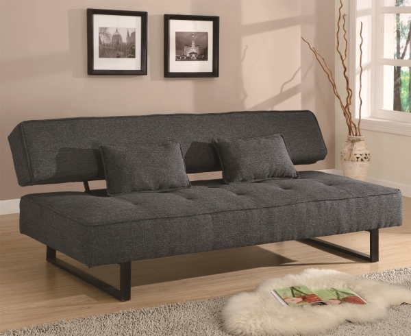 Fascinating Furniture White Futon Sofa Bed With Natural Wooden Frame On Light Futons And Sofa Beds For Small Spaces