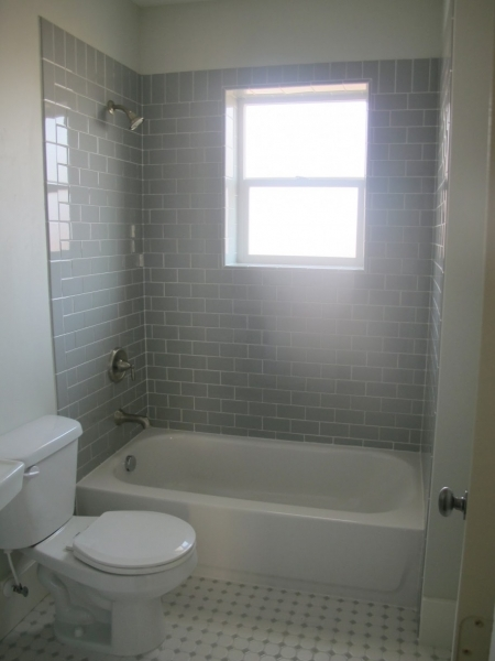 Image of Interior Small Bathroom Remodeling Ideas With White Bathtub Subway Tile Small Bathroom Remodeling