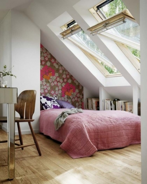 Incredible Perfect Attic Home Wooden With Folding Attic Stairs Design Eas Small Bedroom Ideas Attic Design