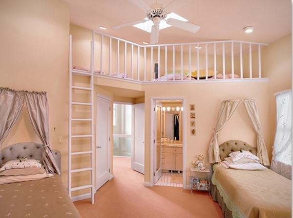 Incredible Small Rooms Bedroom Cool For Teenagers Bunk Beds Girl Room In Small Girls Bunk Beds Decorating Ideas