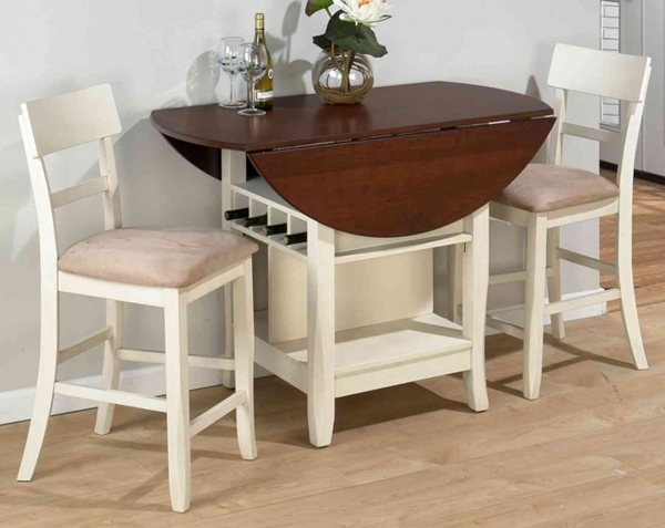 Inspiring Chic Small Spaces Dining Room Furniture Design Ideas Featured Small Space For A Dining Room
