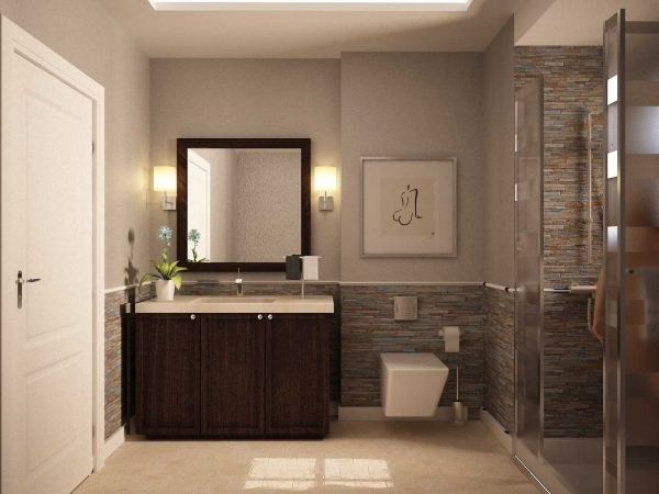 Inspiring Small Bathroom Color Ideas Worldwidedesigning Small Bathroom Color Ideas