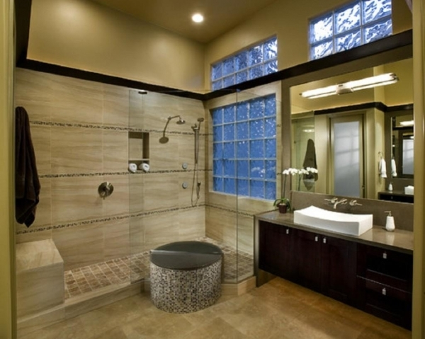 Outstanding Bathroom Small Master Bath With Large Shower Part 3 Master Small Houses Master Bathrooms