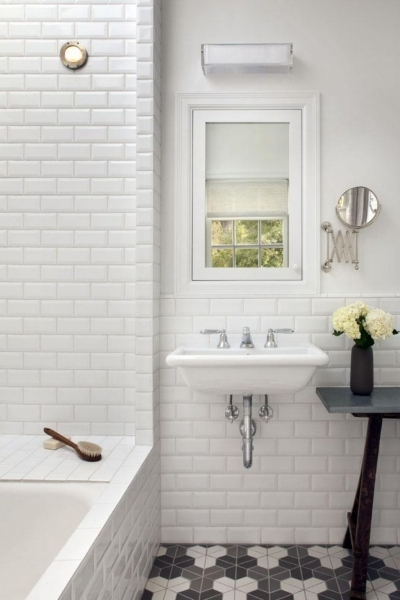 Picture of Nice Subway Tile Bathroom Ideas City Wide Kitchen And Bath Small Bathroom Remodeling Subway Tile