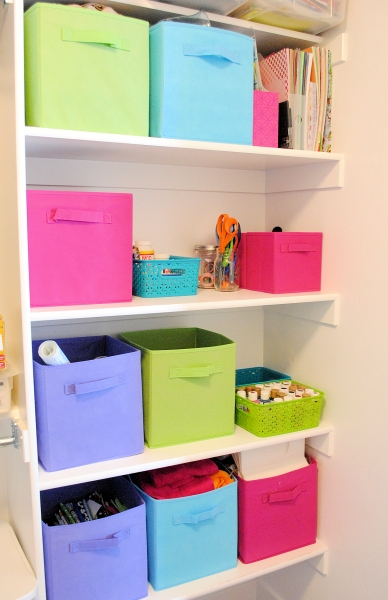 Picture of Organizing Craft Supplies In Small Spaces Small Space Organizers