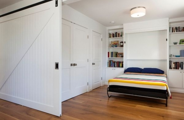 Remarkable Built In Bed Small Apartments Interior Design Solution Built In Wardrobe Designs For Small Bedroom